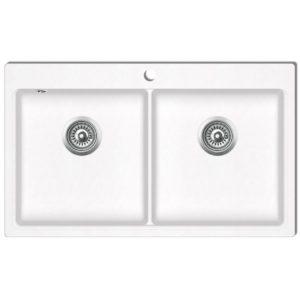 Köögivalamu kahe kraanikausiga graniidist