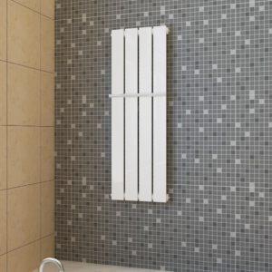 Küttepaneeliga käterätihoidja 311 mm + küttepaneel valge 311 mm x 900 mm