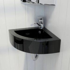Keraamiline kraani- ja ülevooluavaga vannitoavalamu