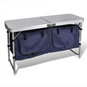 Kokkupandav alumiiniumist raamiga matkakapp