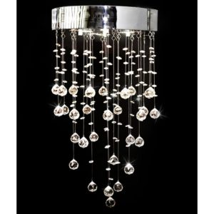 Lühter 180 kristalliga