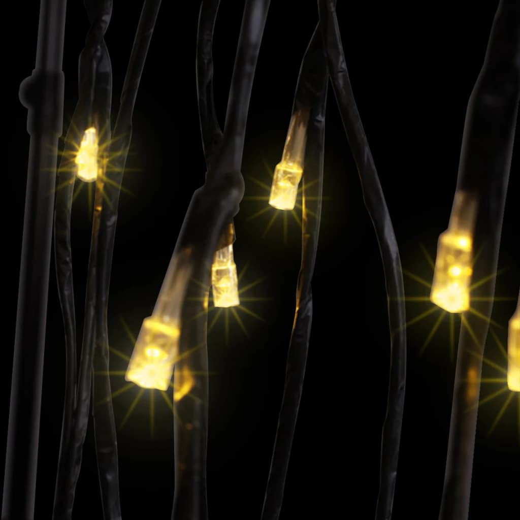 d7dc8d3e312 LED-tuledega jõulupuu, soe valge valgus, paju 150 cm - JUNIIK.EE
