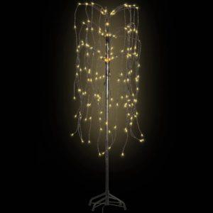 f16beaf5326 LED-tuledega jõulupuu, soe valge valgus, paju 150 cm