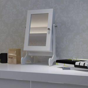 Lauale paigaldatav puidust ehtelaegas peegliga