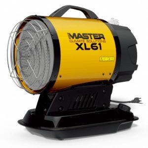 Masteri infrapunaga diiselkütteseade XL 61 17 kW