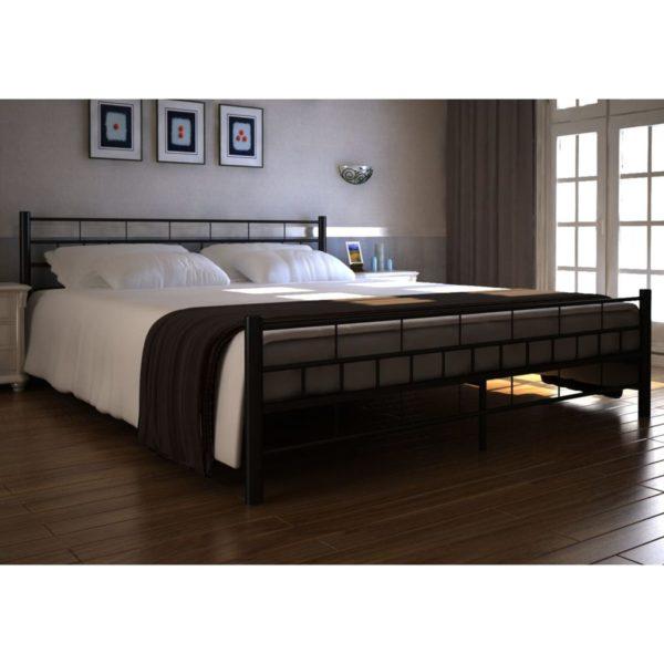 Metallraamiga voodi 140 x 200 cm + madrats