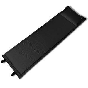 Must isetäituv magamismatt 185 x 55 x 3 cm (ühene)