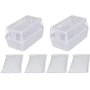 Plastmassist kuivatusanumad (kahene komplekt)