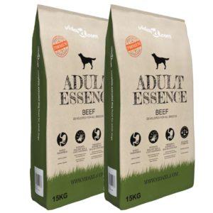 Premium koerte kuivtoit Adult Essence Beef 2 tk