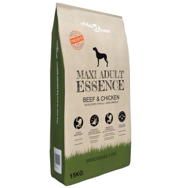 Premium koerte kuivtoit Maxi Adult Essence Beef & Chicken 15 kg