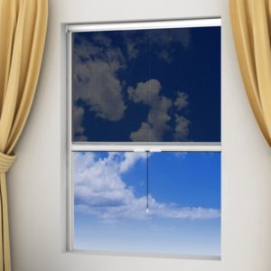 Putukavõrk aknale 120 x 170 cm valge