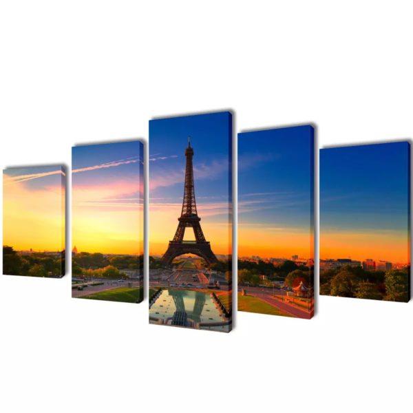 Seinamaalikomplekt Eiffeli torniga