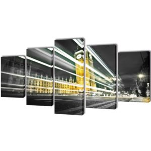 Seinamaalikomplekt London Bin Ben