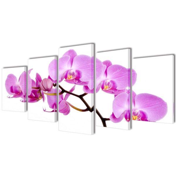 Seinamaalikomplekt orhideega