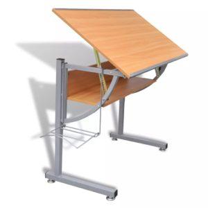 Teismeliste reguleeritava kõrgusega ja kallutatav laud