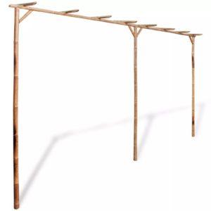 bambusest lehtla 4 x 2 m