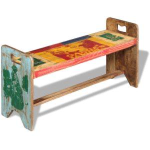 esikupink toekast taastatud puidust 100 x 30 x 50 cm