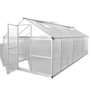 kasvuhoone tugevdatud alumiiniumist 10