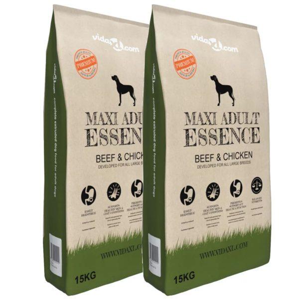 koerte kuivtoit Maxi Adult Essence Beef & Chicken