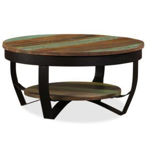 kohvilaud taastatud puidust 65 x 32 cm