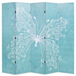 kokkupandav sirm 200 x 180 cm liblikaga