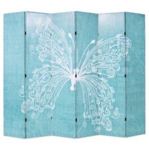 kokkupandav sirm 228 x 180 cm liblikaga