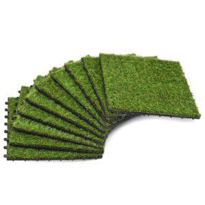 kunstmuruplaadid 10 tk 30 x 30 cm roheline