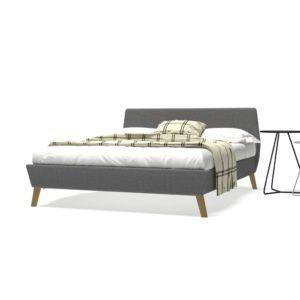liistudest põhjaga voodiraam
