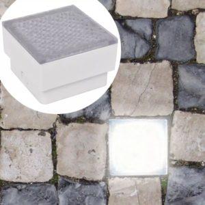 maasisesed LED-valgustid 12 tk 100 x 100 x 68 mm