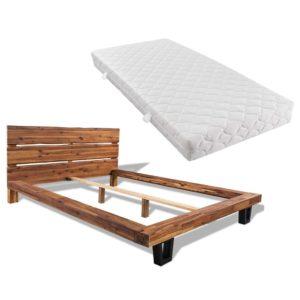 madratsiga akaatsiapuidust voodi