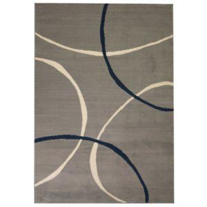 moodne ringide disainiga vaip 160 x 230 cm hall
