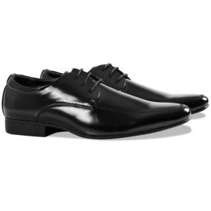 pidulikud meeste kingad suurus 42 must