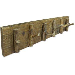 riidenagi taaskasutatud puidust 60 x 15 cm