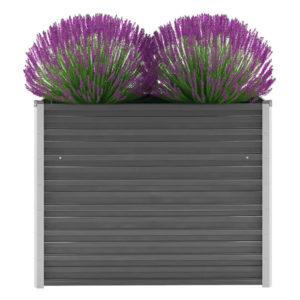 tsingitud terasest taimekast 100 x 40 x 77 cm