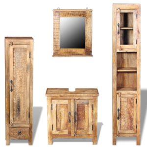 tualett-tarvete kapp peegli ja kahe lisakapiga