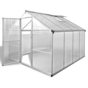 tugevdatud alumiiniumist kasvuhoone alusraamiga 6