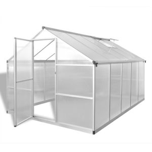 tugevdatud alumiiniumist kasvuhoone alusraamiga 7