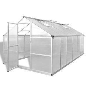 tugevdatud alumiiniumist kasvuhoone alusraamiga 9