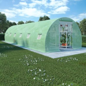 kasvuhoone terasest vundamendiga 27 m² 900 x 300 x 200 cm
