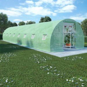 kasvuhoone terasest vundamendiga 36 m² 1200 x 300 x 200 cm