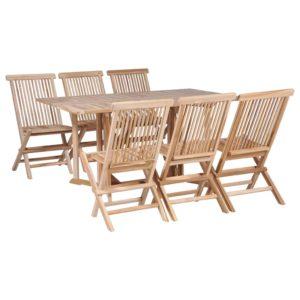 kokkupandav söögilaua ja toolide komplekt