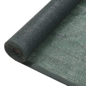 privaatsusvõrk HDPE 1 x 25 m roheline