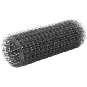 terasest aiavõrk PVC kattega 25x0