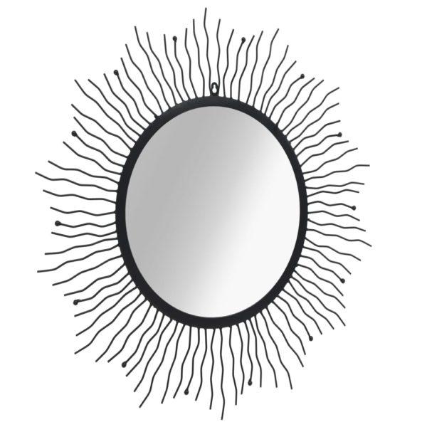 päikesekujuline 80 cm must