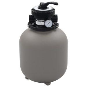 basseini liivafilter 4 asendis ventiiliga hall 350 mm