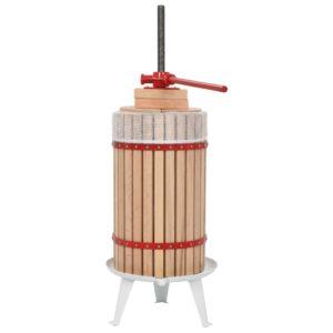 puuvilja- ja veinipress riidest kotiga