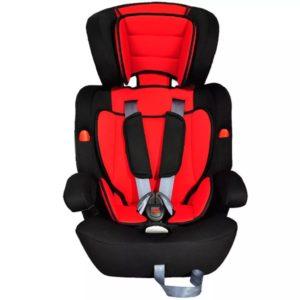Laste turvatool vööga 9-36 kg punane-must