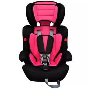 Laste turvatool vööga 9-36 kg roosa-must