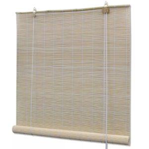 Naturaalset värvi bambusrulood 100 x 160 cm