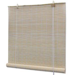 Naturaalset värvi bambusrulood 80 x 160 cm